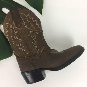 Dan Post // sz 9 toddler boy cowboy boots leather